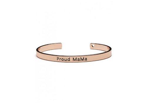 Armband Proud Mama rosé