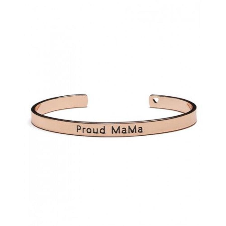 Armband Proud Mama rosé-1