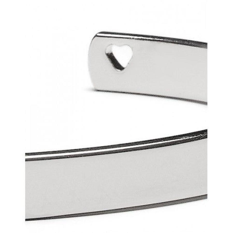 Armband Proud Mama zilver-2