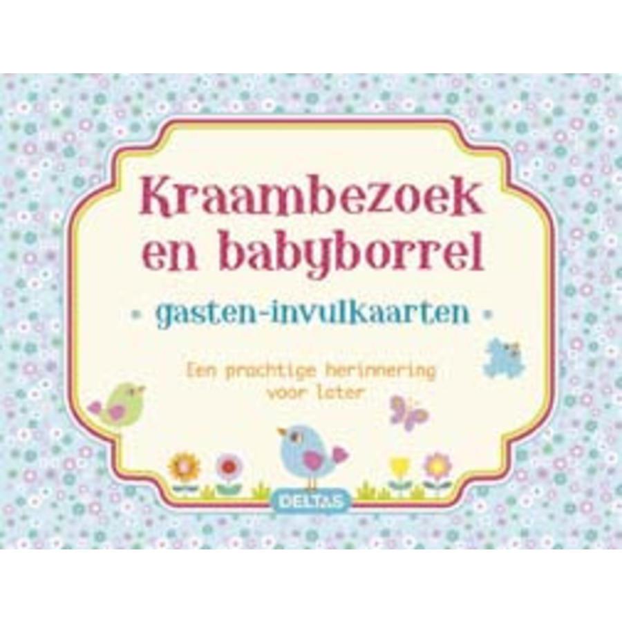 Invul gastenkaart baby jongen  (40 kaarten)-1