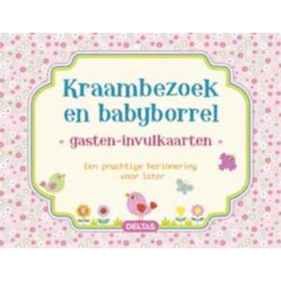Invul gastenkaart baby meisje  (40 kaarten)-1