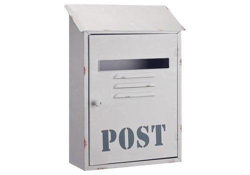 Boite postal blanche