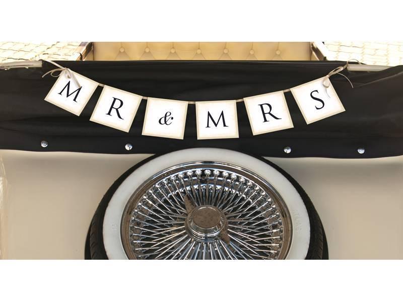Autoversiering huwelijk