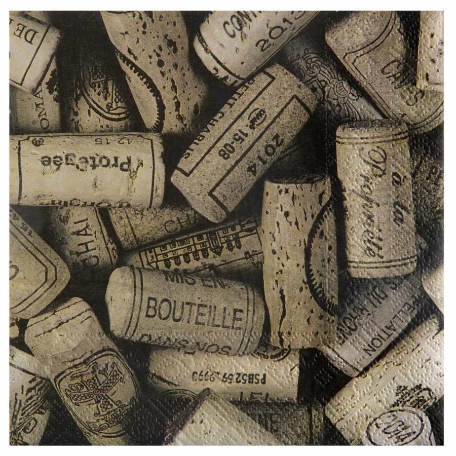 Servetten wijn (20 stuks)-1