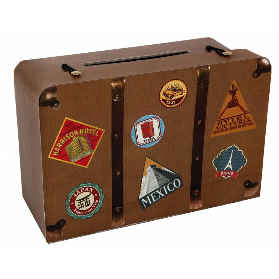 Enveloppendoos travel koffer (klein)-1