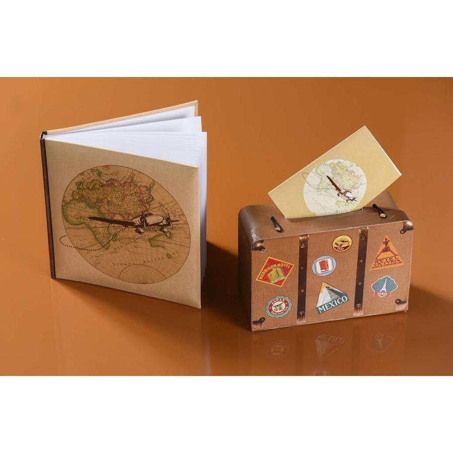 Enveloppendoos travel koffer (klein)-2