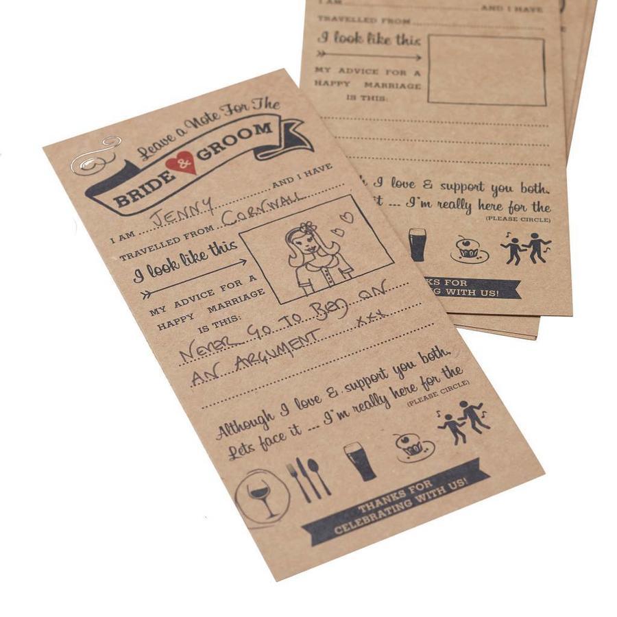 Kaartjes alternatief gastenboek (10 stuks)-1