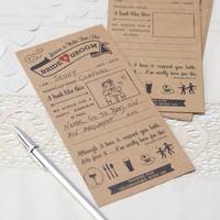 thumb-Kaartjes alternatief gastenboek (10 stuks)-2