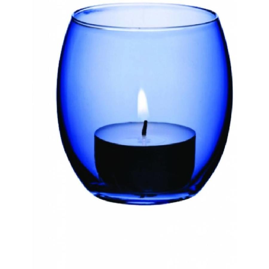 Theelichthouder blauw (verhuur)-1