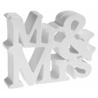 Kaarthouder Mr & Mrs wit