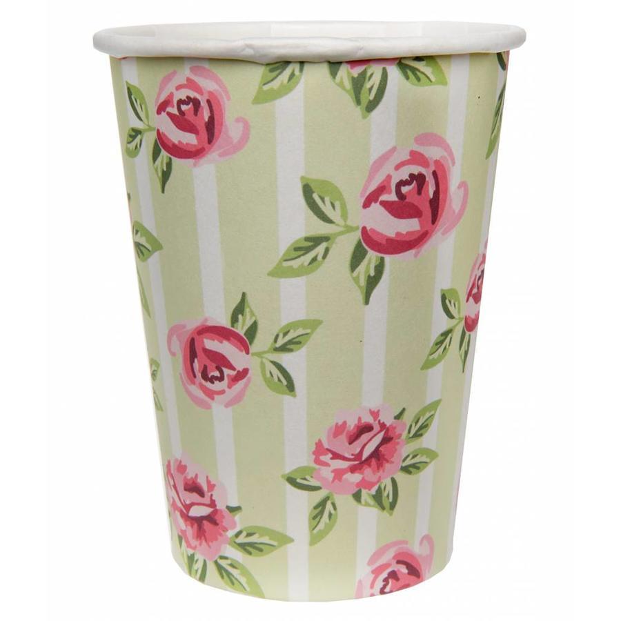 Bekertje roos (10 stuks)-1