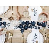 thumb-Papieren lotus bloem blauw (3 stuks)-5