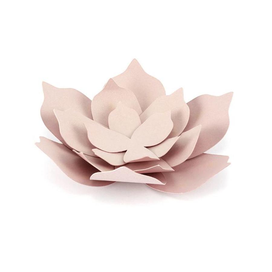 Papieren lotus bloem roze (3 stuks)-1