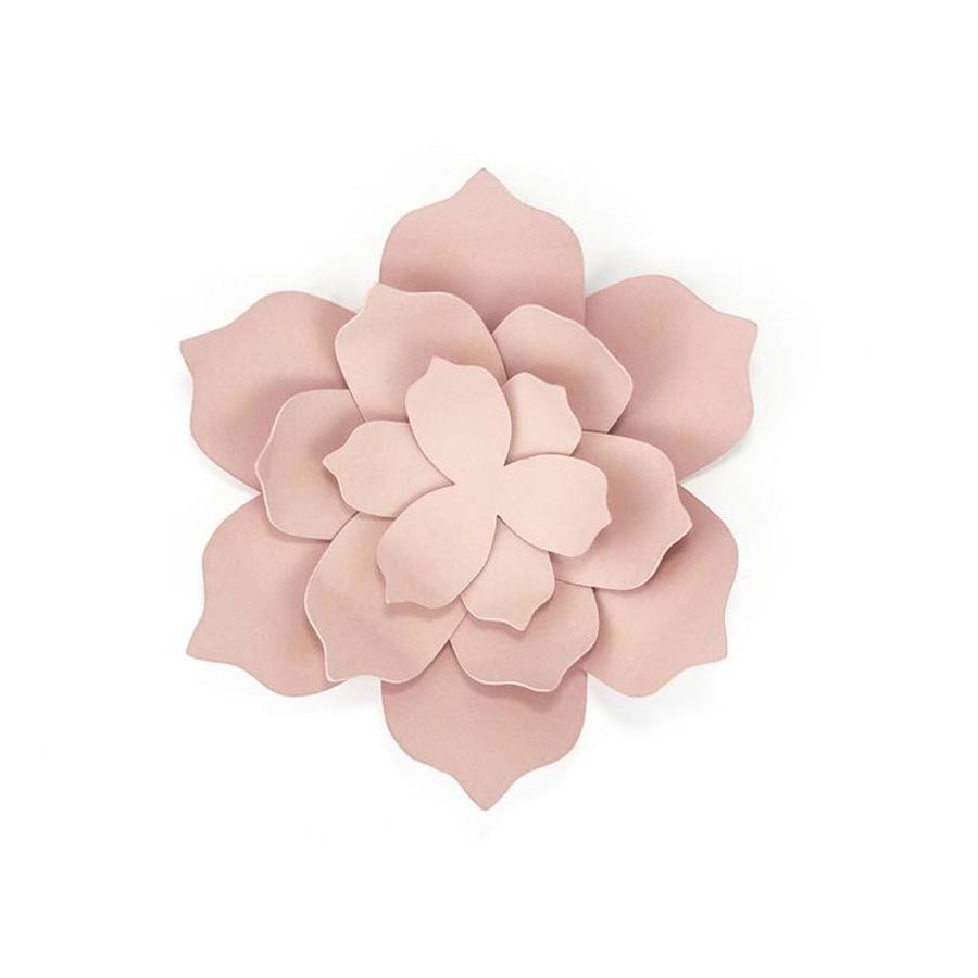 Papieren lotus bloem roze (3 stuks)-2