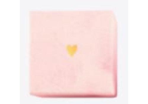Ringdoosje roze hartje