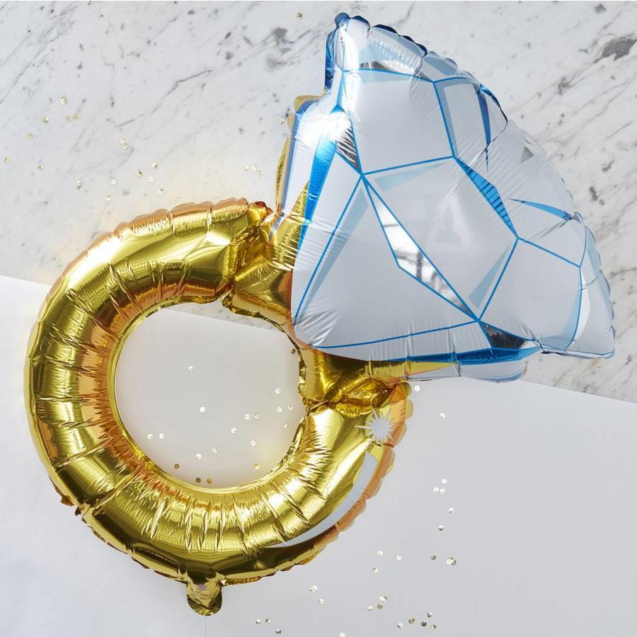 Folieballon ring-2