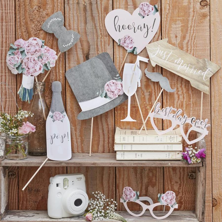 Photo props wedding (10 stuks)-3