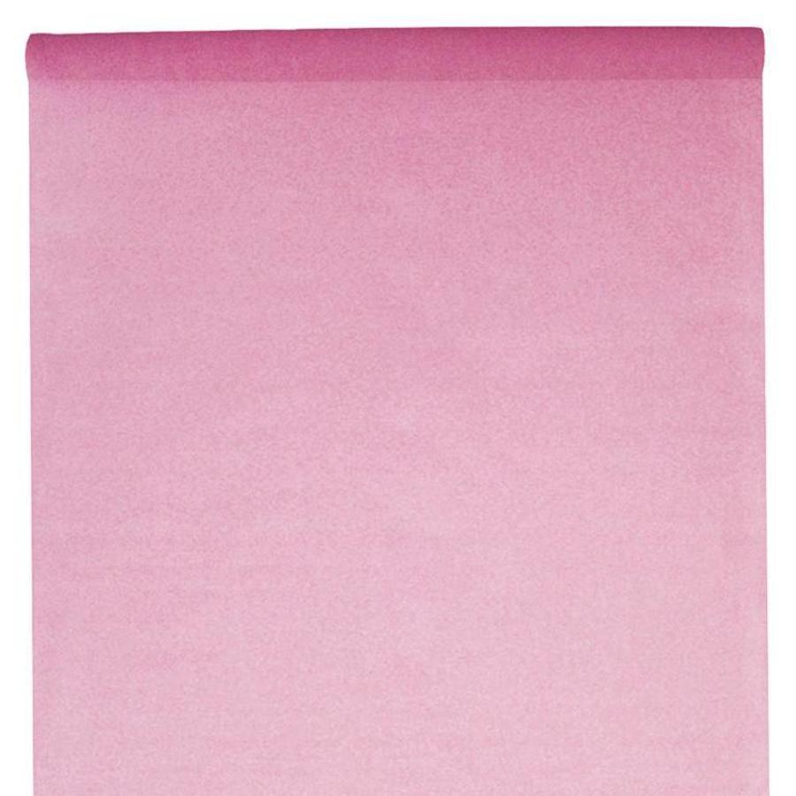 Tafelkleed papier roze (10 meter)-1