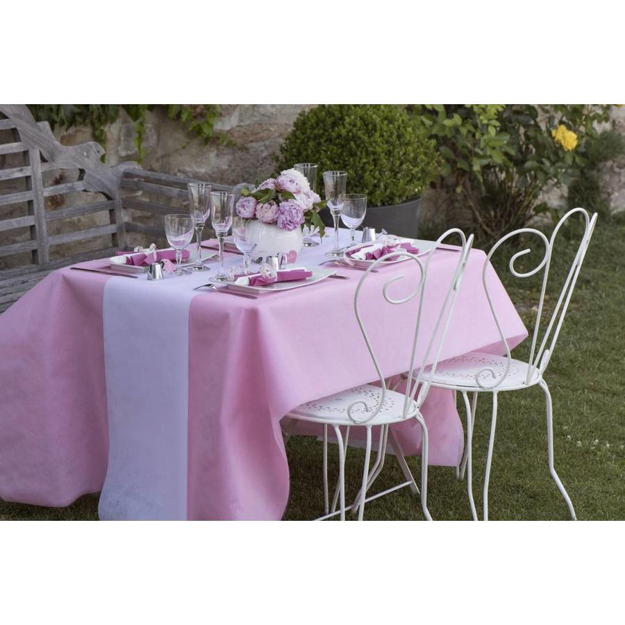 Tafelkleed papier roze (10 meter)-2