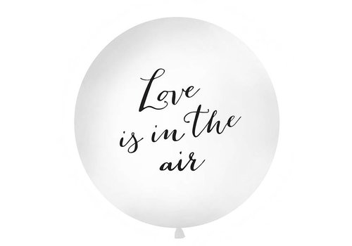 Jumbo ballon Love is in the air