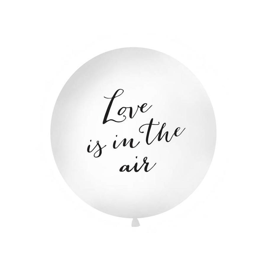 Jumbo ballon Love is in the air-1