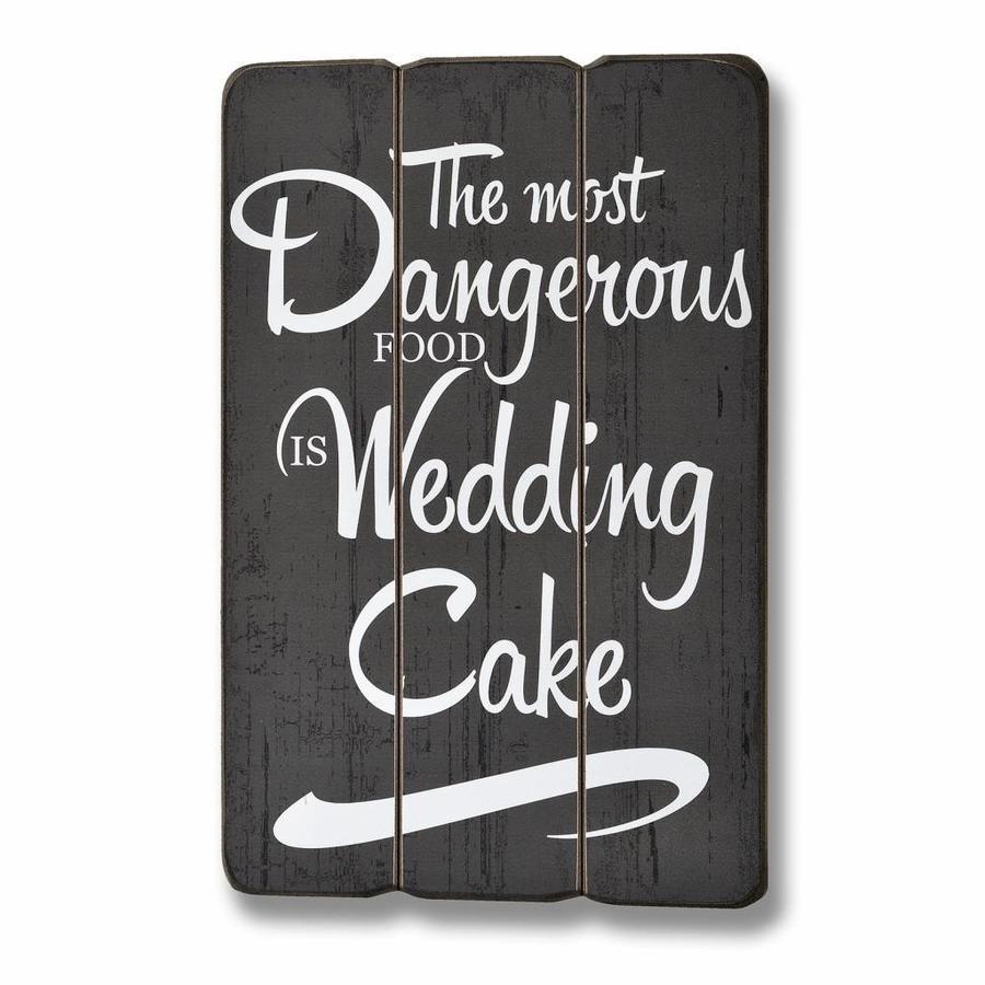 Bord The most dangerous food is weddingcake-1