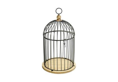 Tirelire cage noir