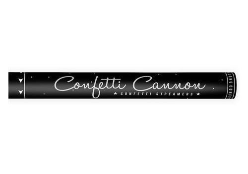 Canon à confettis Serpentin Argent