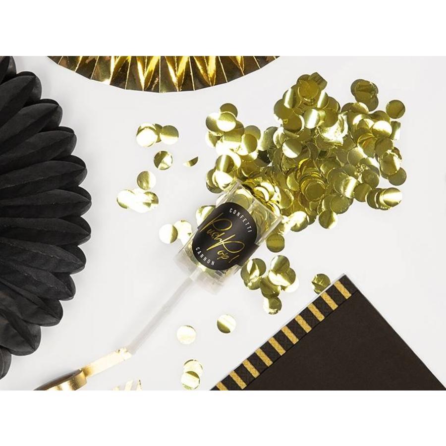 Confetti popper goud-5