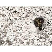 thumb-Confetti popper zilver-3