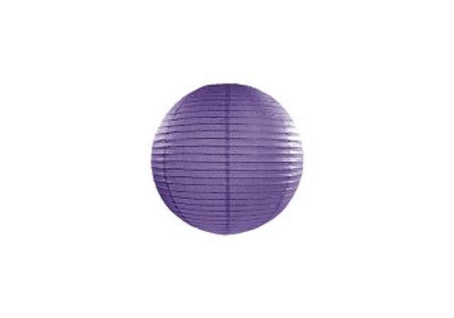 Lampion violet diamètre 20