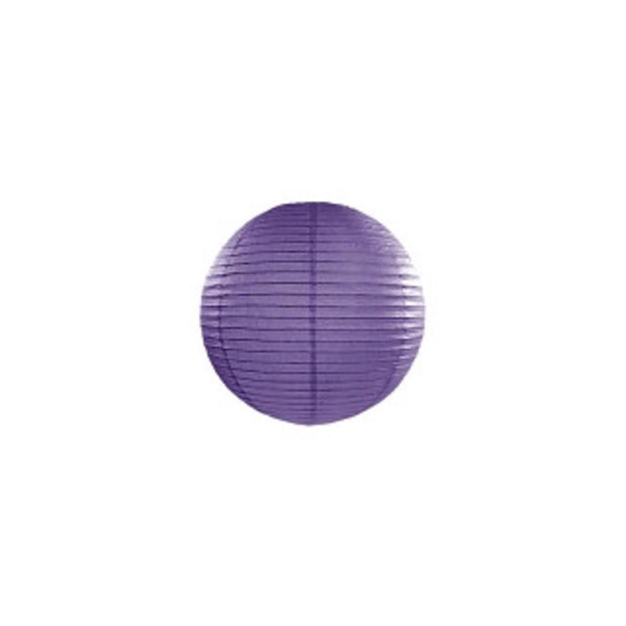 Lampion violet diamètre 20-1