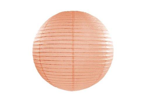 Lampion zalm diameter 45 cm