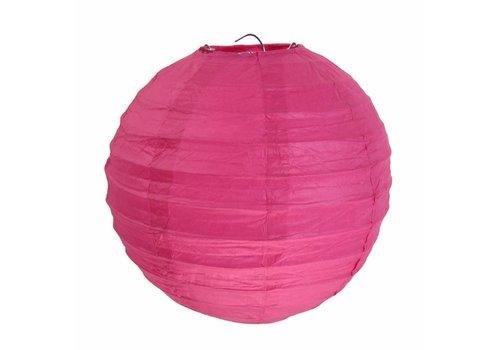 Lampion fuchsia  diameter 50 cm