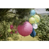 thumb-Lampion fuchsia  diameter 50 cm-3