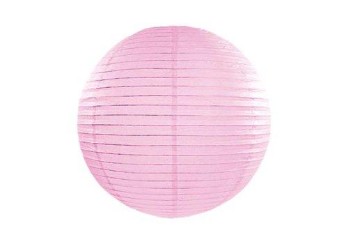 Lampion roze diameter 35 cm