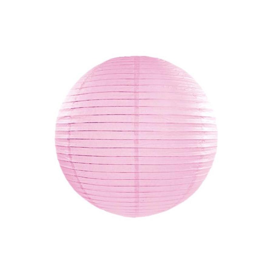 Lampion roze diameter 35 cm-1