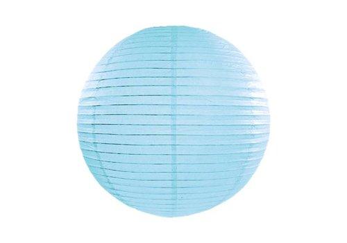 Lampion blauw diameter 35 cm