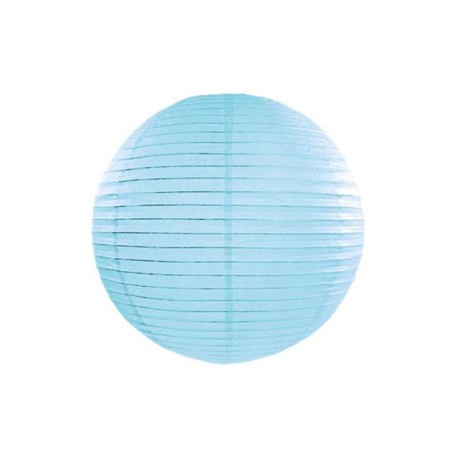 Lampion blauw diameter 35 cm-1
