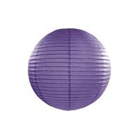 Lampion violet diamètre 25cm