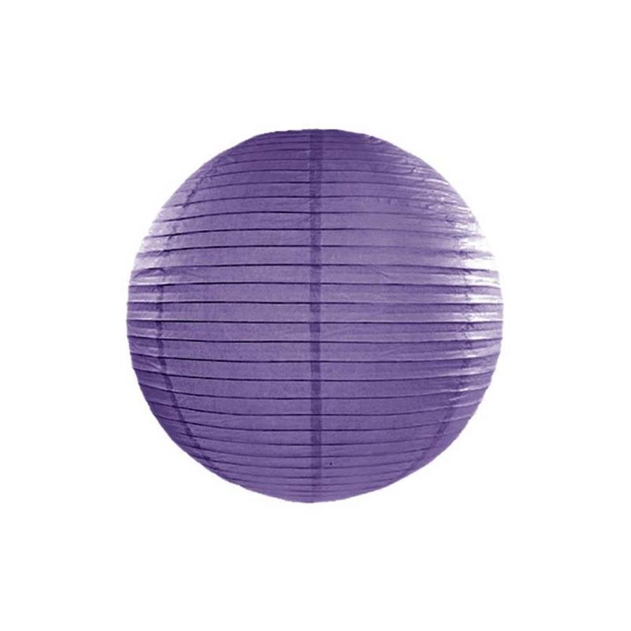 Lampion violet diamètre 25cm-1