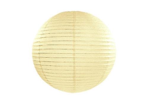 Lampion jaune diamètre 25 cm