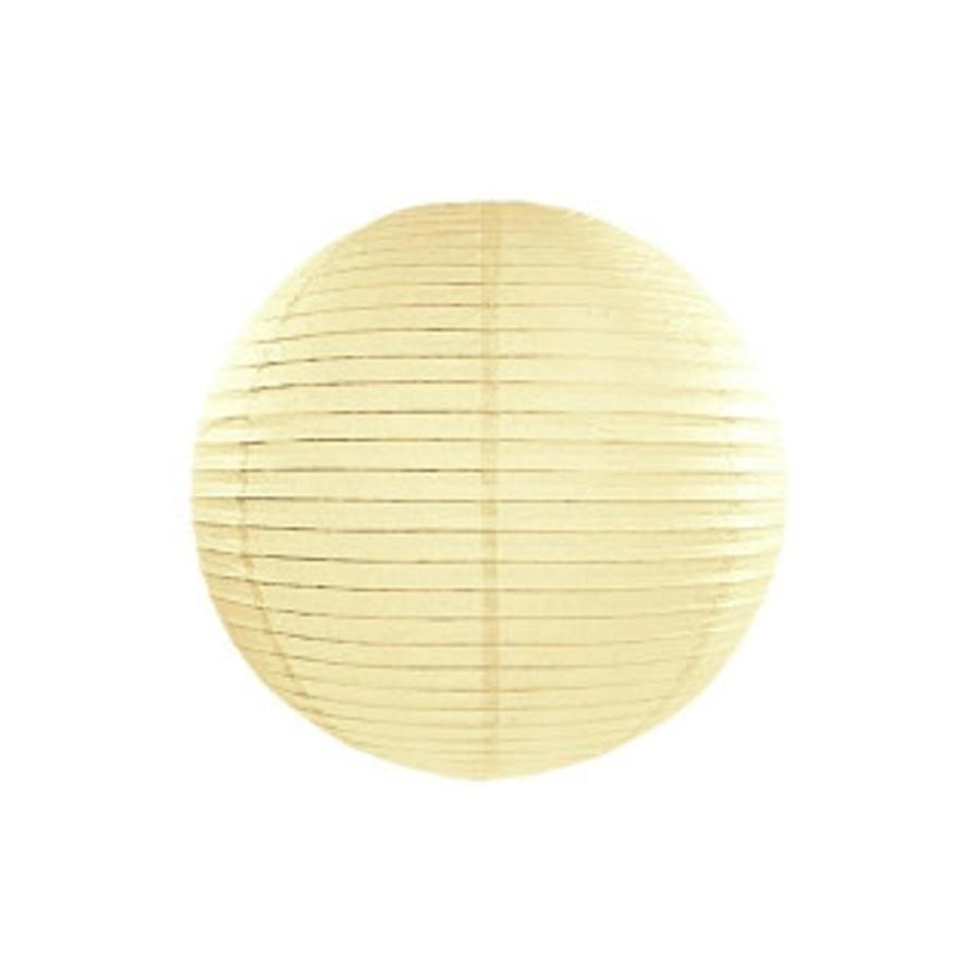 Lampion geel diameter 25 cm-1