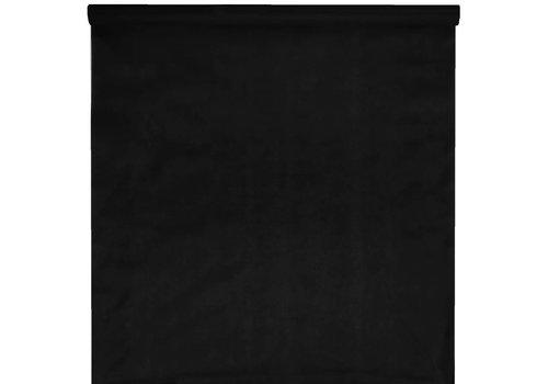 Tafelkleed papier zwart (10 meter)