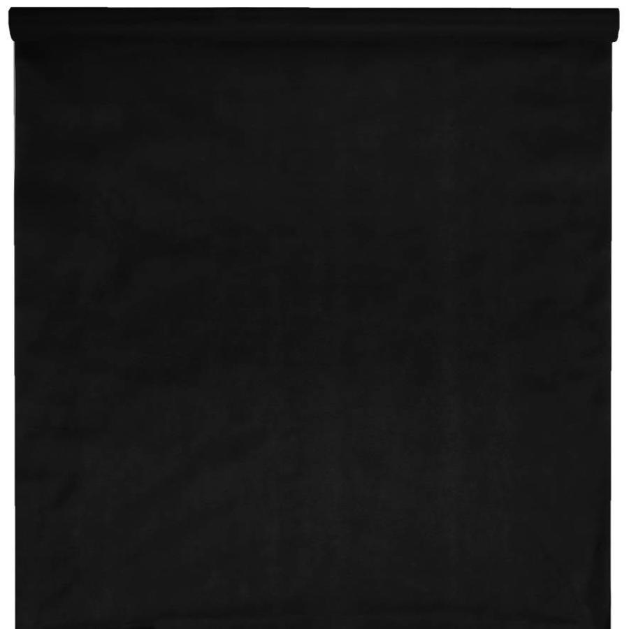 Tafelkleed papier zwart (10 meter)-1