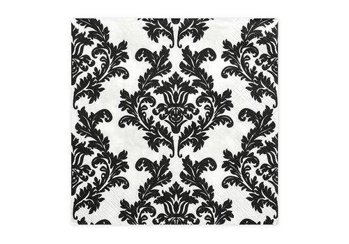 Serviettes en papier baroque (20pcs)