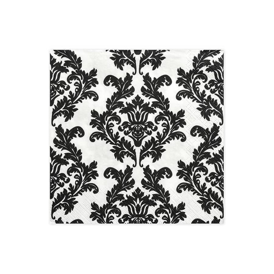 Serviettes en papier baroque (20pcs)-1