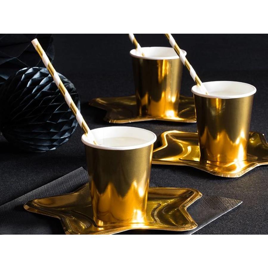 Bekertje goud (6 stuks)-2