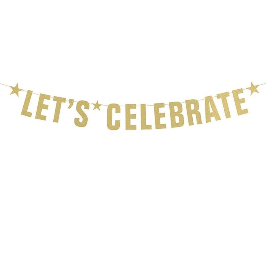 Guirlande Lets Celebrate or-1