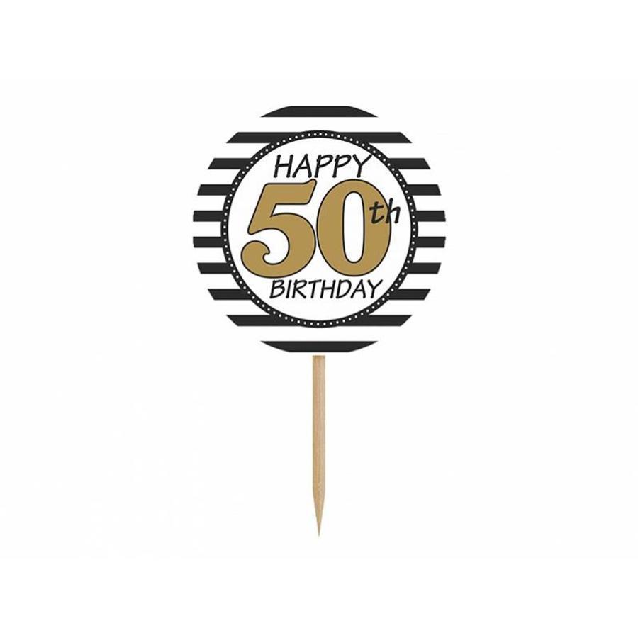 Cupcake topper 50-2